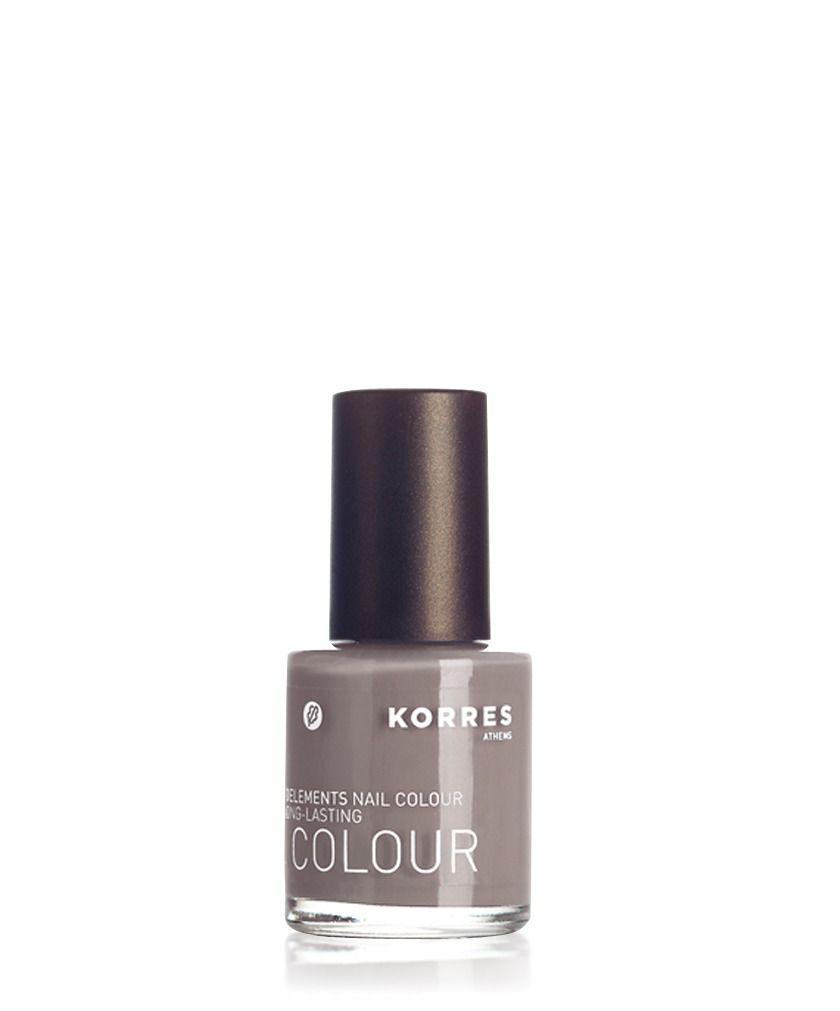 Korres Nagellack Myrrh & Oligoelements Light Grey   Nails   Pinterest