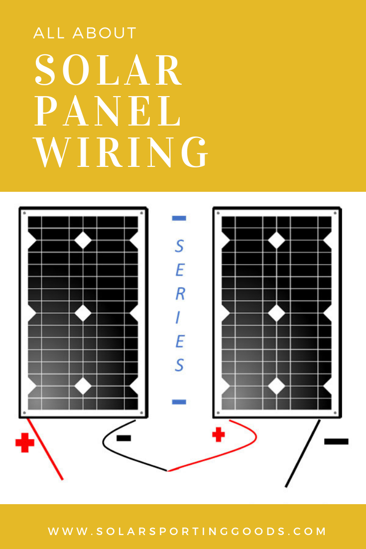 so you are interested in setting up your own diy solar panel array to charge your batteries how should you wire the portable solar panels together  [ 735 x 1102 Pixel ]