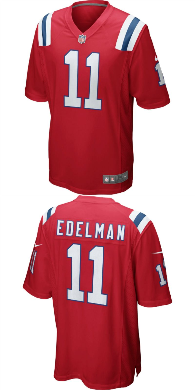 new styles c9781 5633c UP TO 70% OFF. Julian Edelman New England Patriots Nike ...