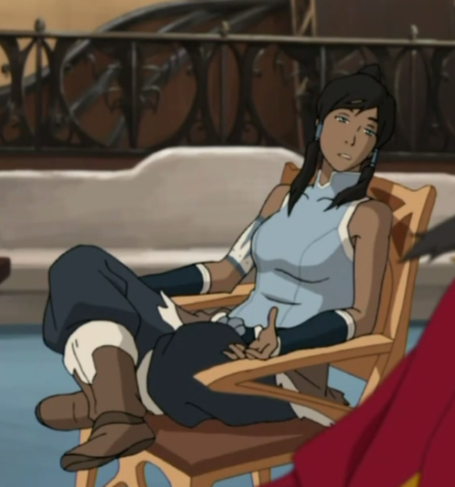 makorraforevafangirl:  kaiayame:  korrastyle:  I LIKE TO SIT THIS WAY TOO  ME TOO  THIS IS WHY SHES PERFECTION