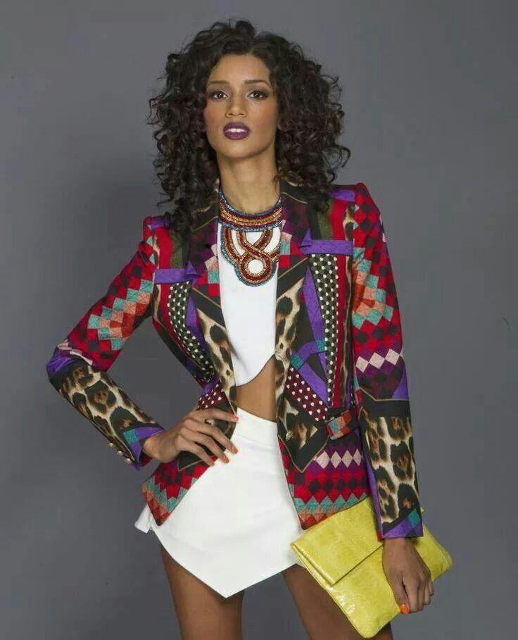 daf6ad36d22c1 Dope blazer Ankara Jackets, Africa Fashion, African Inspired Fashion,  Ethnic Fashion, Ankara