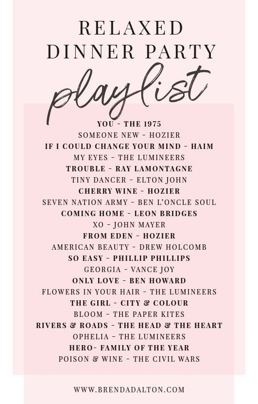 Dinner Party Playlist Music In 2020 Song Playlist Party Playlist Music Playlist
