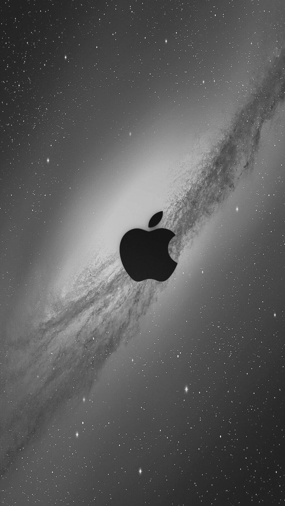 Gray Space Apple