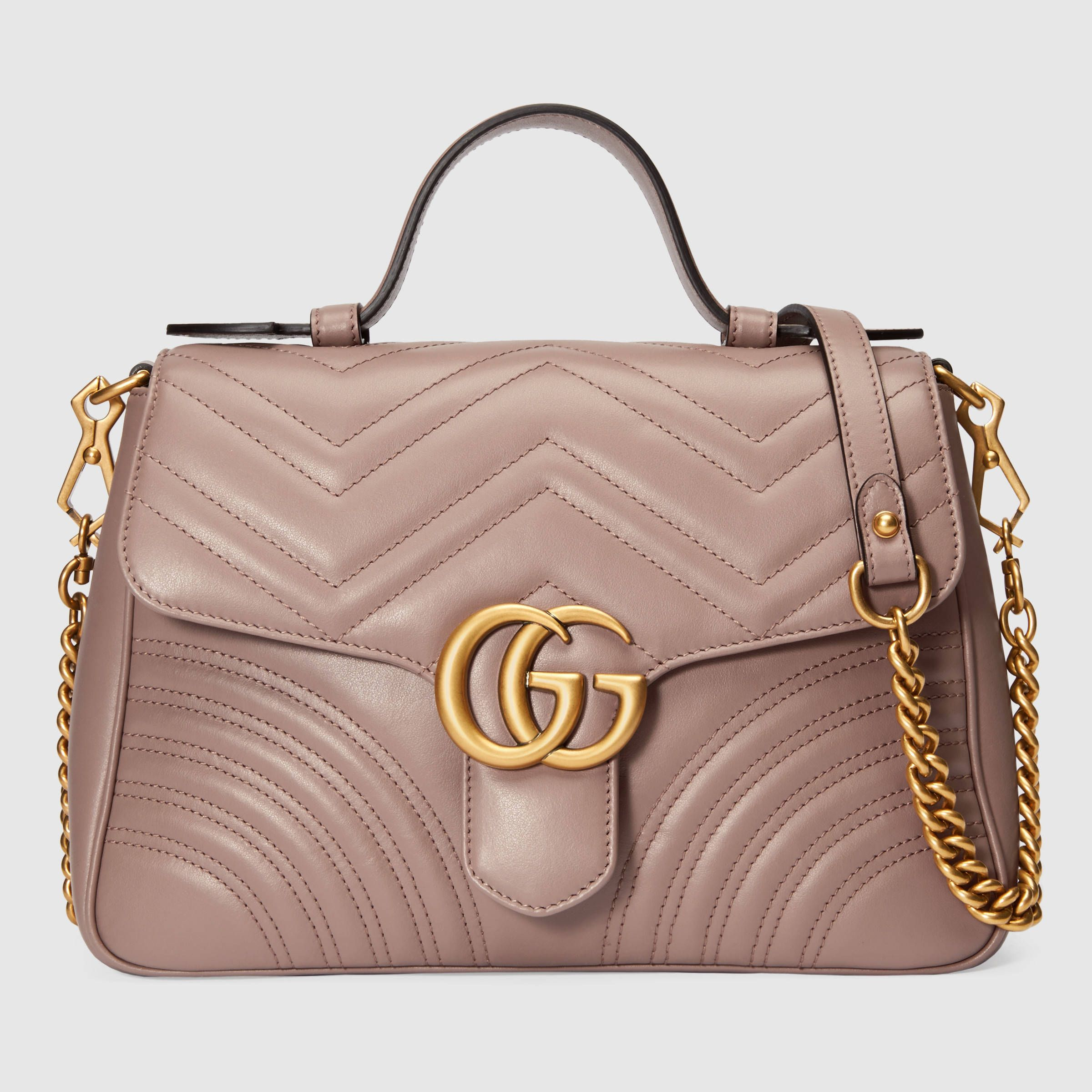 611402a87be GG Marmont small top handle bag in 2019