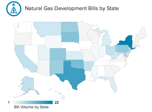 From Fracking to Renewable Energy, Interactive Website Tracks Legislation State by State