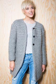 Wonderbaar lang vest dames breien - Google zoeken (con imágenes) | Ganchillo HP-39