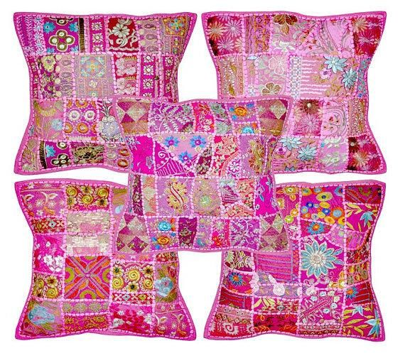 Indian Wedding Decoration Furniture Sofa Couch Cushions Pillows Tapestry