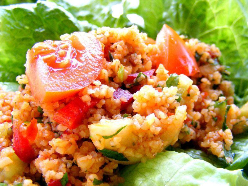 Kisir Turkish Bulgur Wheat Salad Recipe With Images Salad