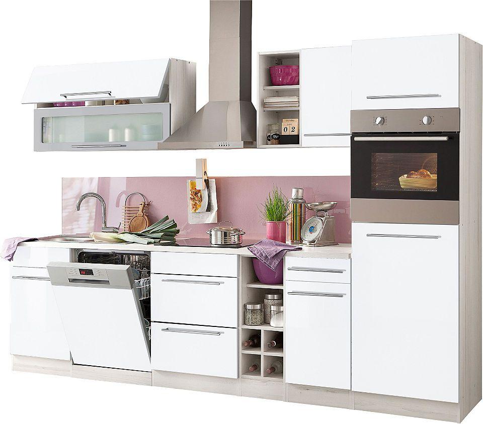 Küchenzeile, Held Möbel, »Avignon«, mit EGeräten, Breite
