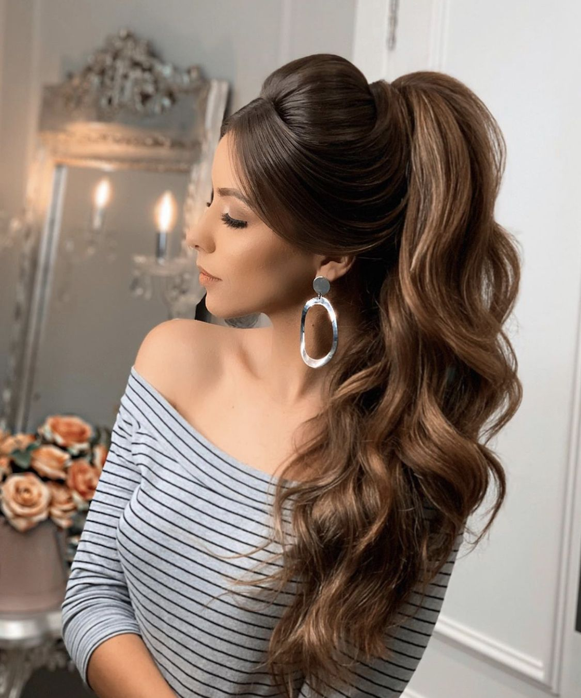 Pin de My Hairstyles em Hair Styles   Penteados cabelo ...
