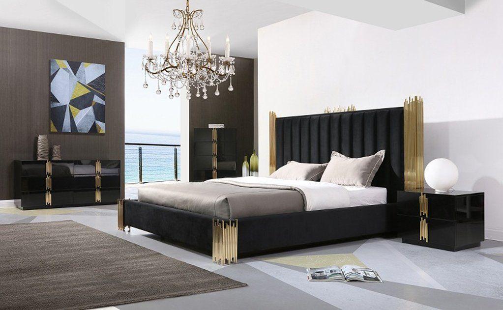 41++ Black and gold bedroom set information