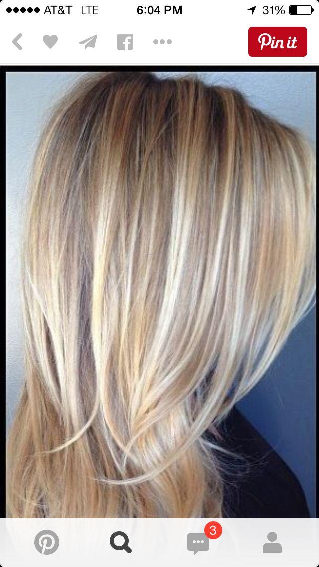 Platinum Blonde With Lowlights Blonde Highlights Blonde Hair