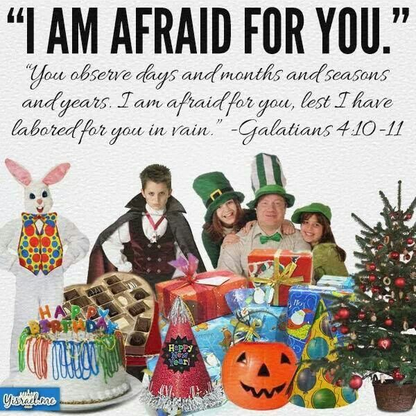 """Traditions of men """"Christianify"""" pagan holidays.   Pagan, Bible facts, Bible truth"""