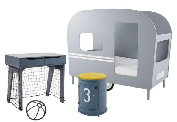 Möbel, Dekoration und Textilien für das Jungenzimmer Jetzt