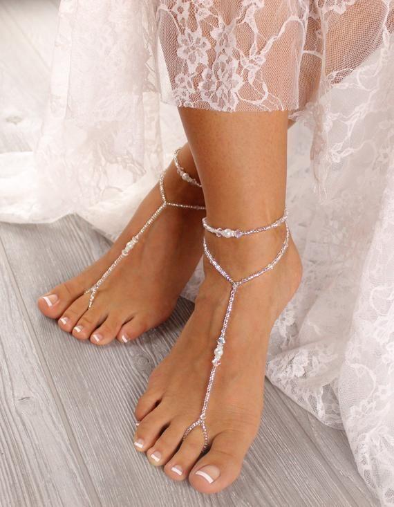 660d7404dc8eff Wedding Foot Jewelry