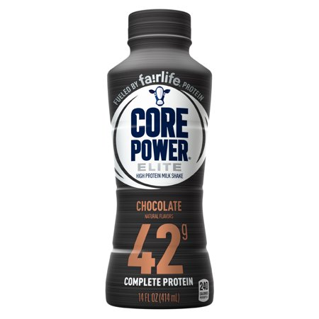 Core Power Elite Protein Drink Chocolate 42g Protein 14 Fl Oz 1 Ct Walmart Com In 2020 Protein Drinks Chocolate Protein Yummy Protein Shakes