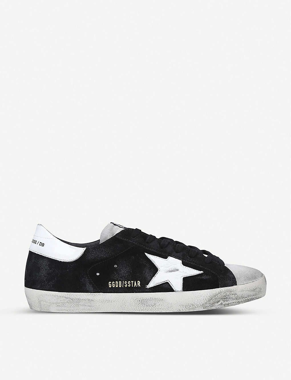 Superstar leather trainers   Leather