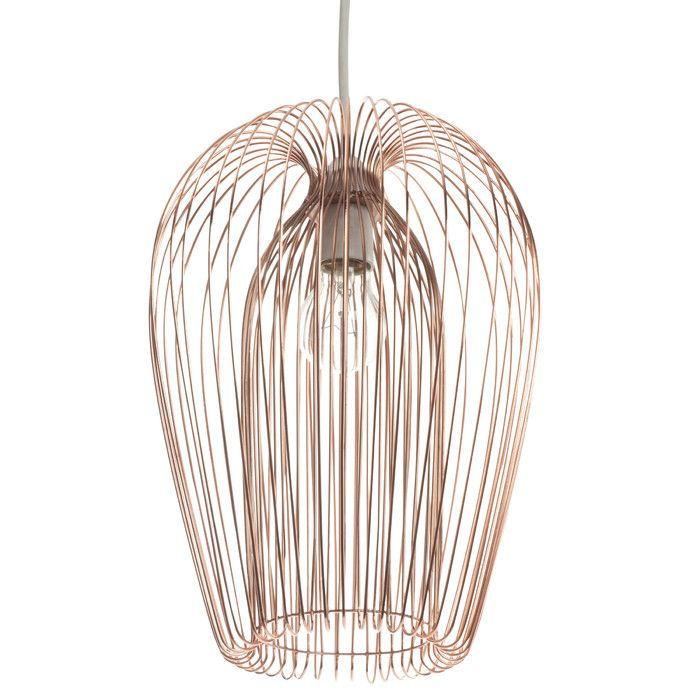 First choice lighting 22cm copper wire lamp shade reviews wayfair uk