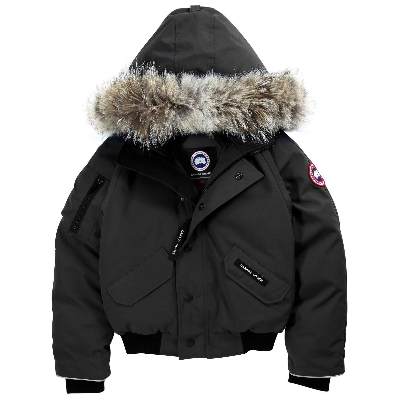 Black goose jacket