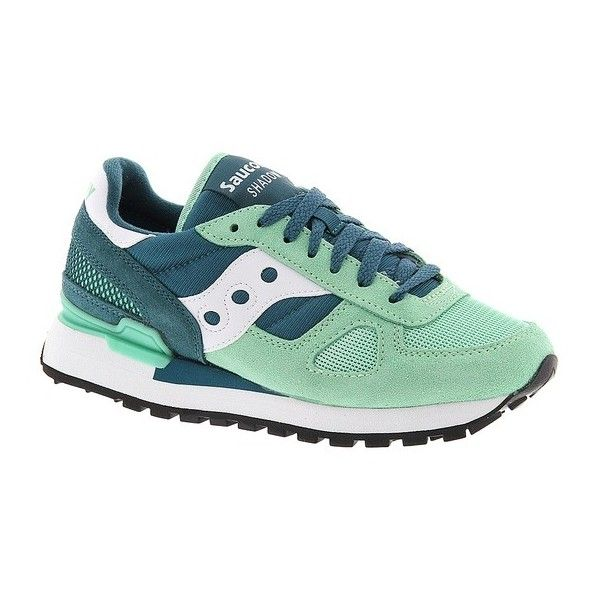 Saucony Shadow Original ($70) ❤ liked on Polyvore featuring shoes, green, walking shoes, saucony, saucony shoes, green shoes und saucony footwear