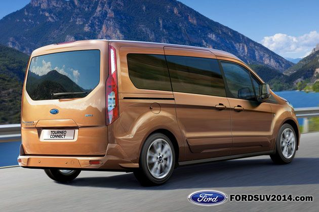 2014 Ford Transit Connect Wagon Rear Ford Transit Ford Van