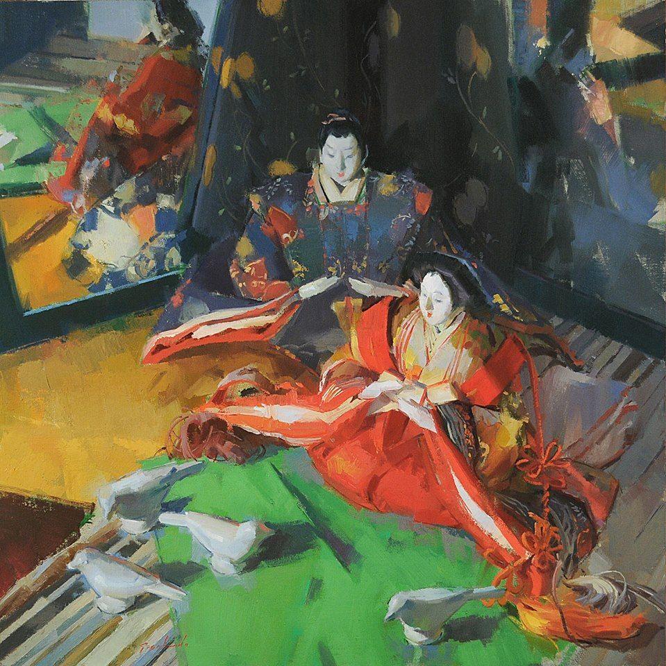 Artist Louis Escobedo 絵画