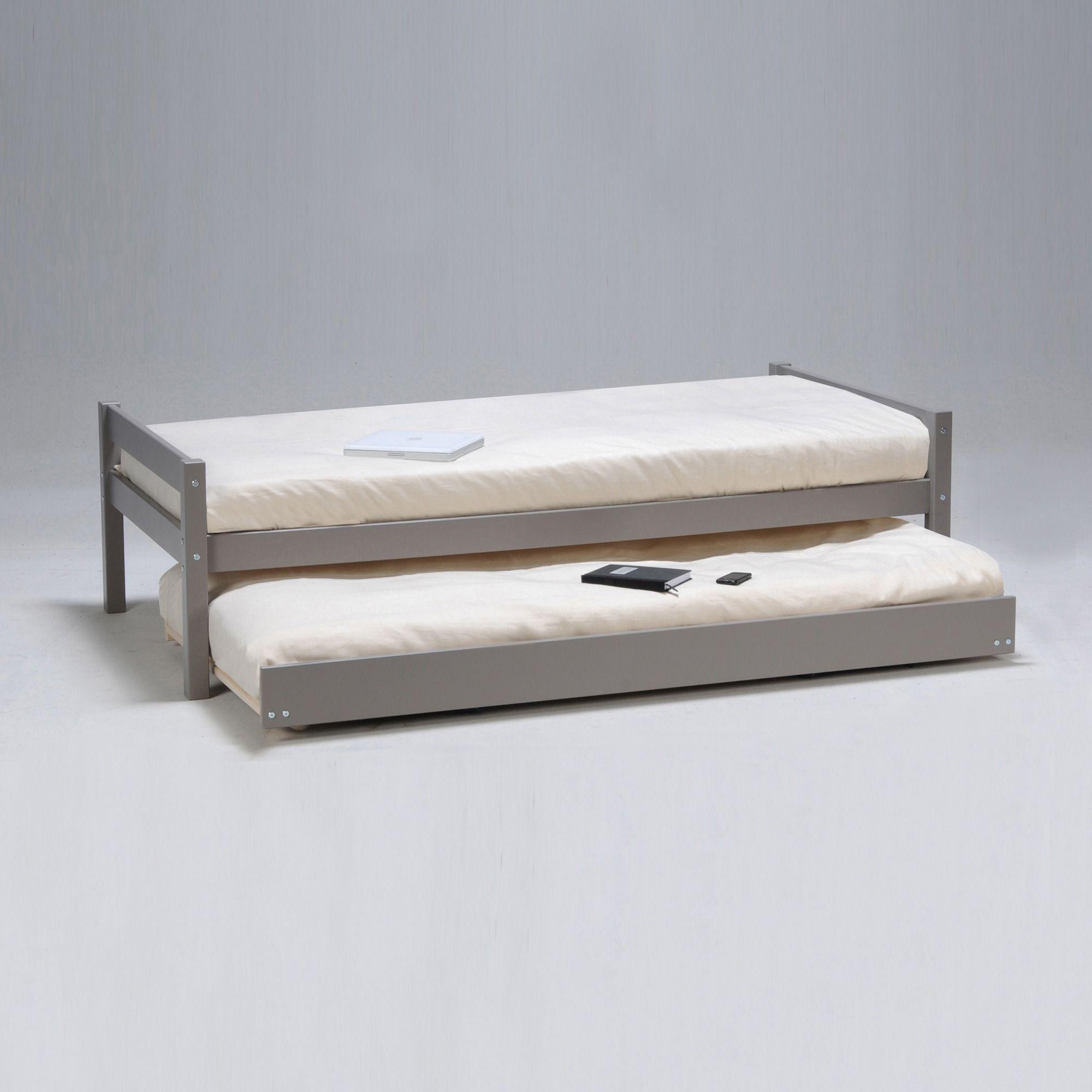 Lit Gigogne Justin 3suisses Furniture Mattress Bed