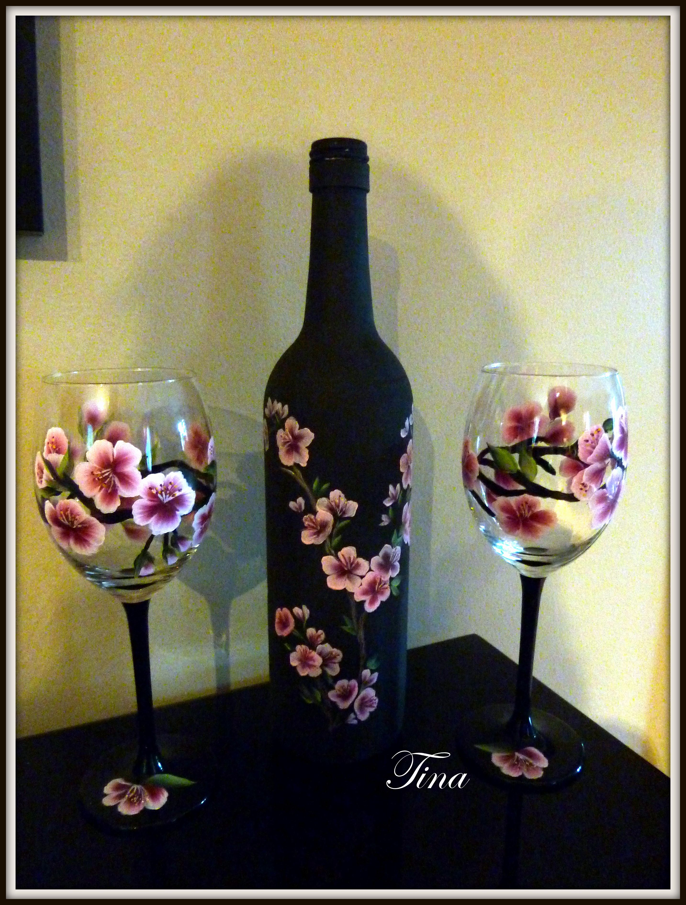 Hand Painted Wine Glass Ideas