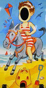 Hire Seaside Photo Boards Accessories