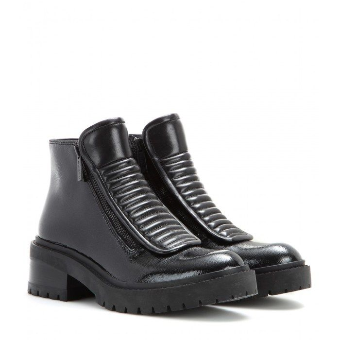 KENZO  Leder Ankle Boots