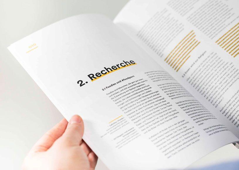 Diplomarbeit Appetit Street Food Plattform Fur Die Schweiz Editorial Design Layouts Broschurendesign Buch Layouts