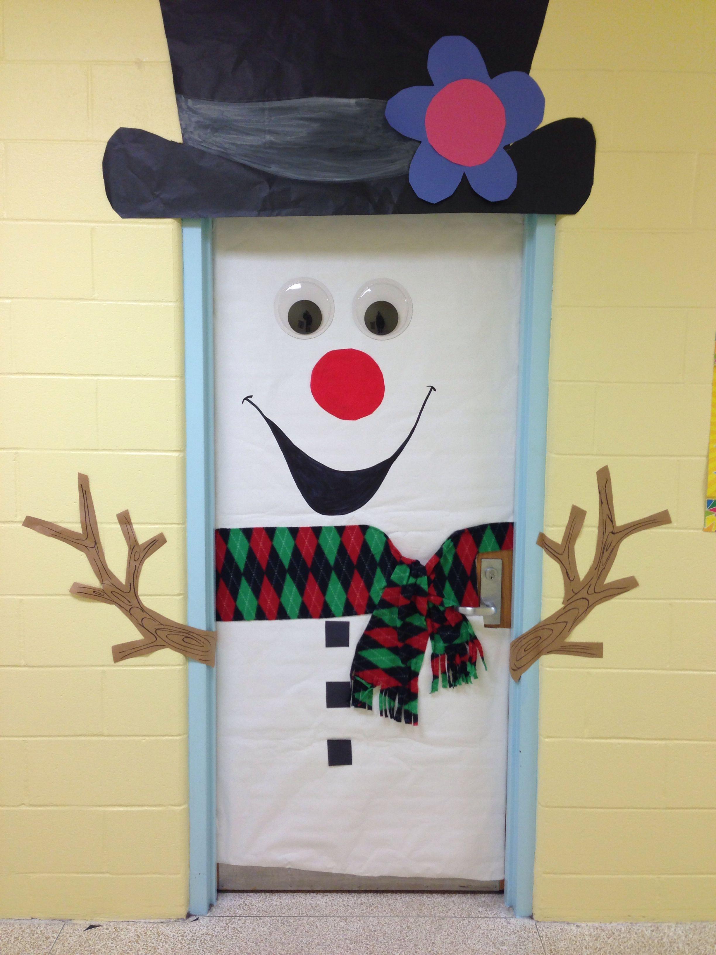 Classroom door decoration Christmas