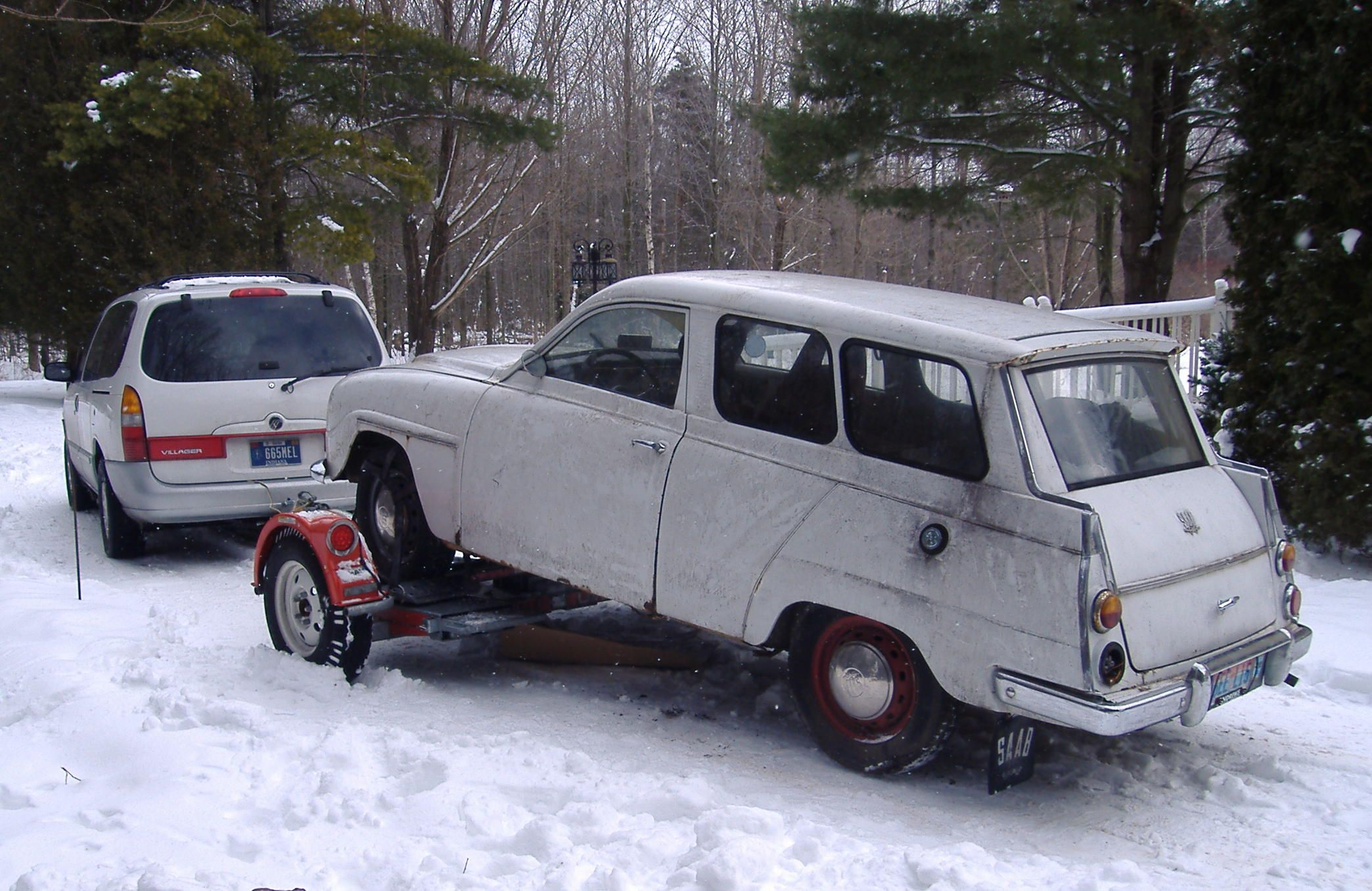 1966 Saab 'Rusty' headed for Indy in 2010 Vehicles