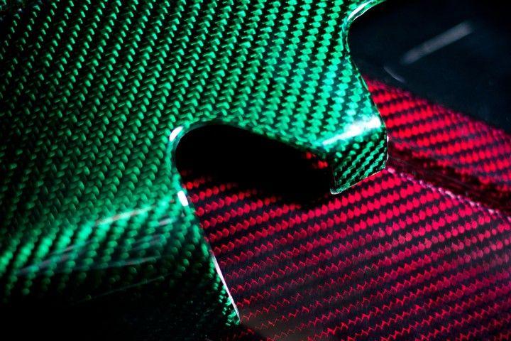 Prodrive previews colored carbon fiber | Texture | Pattern