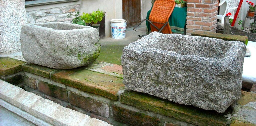 Arredo giardino pietre | Pietre | Contini Vittorio ...