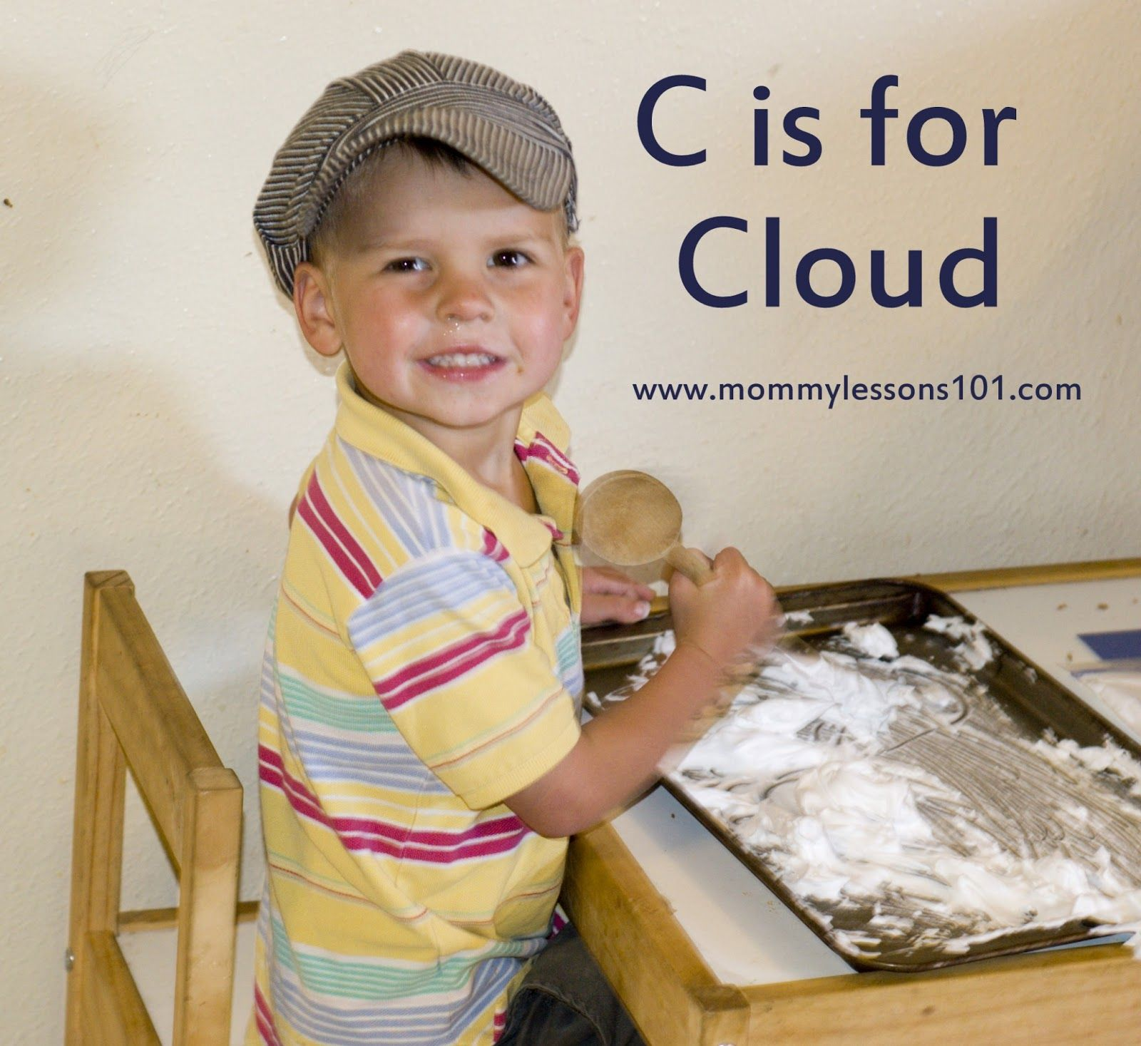 Mommy Lessons 101 C Is For Cloud Lesson Plan For Preschoolers
