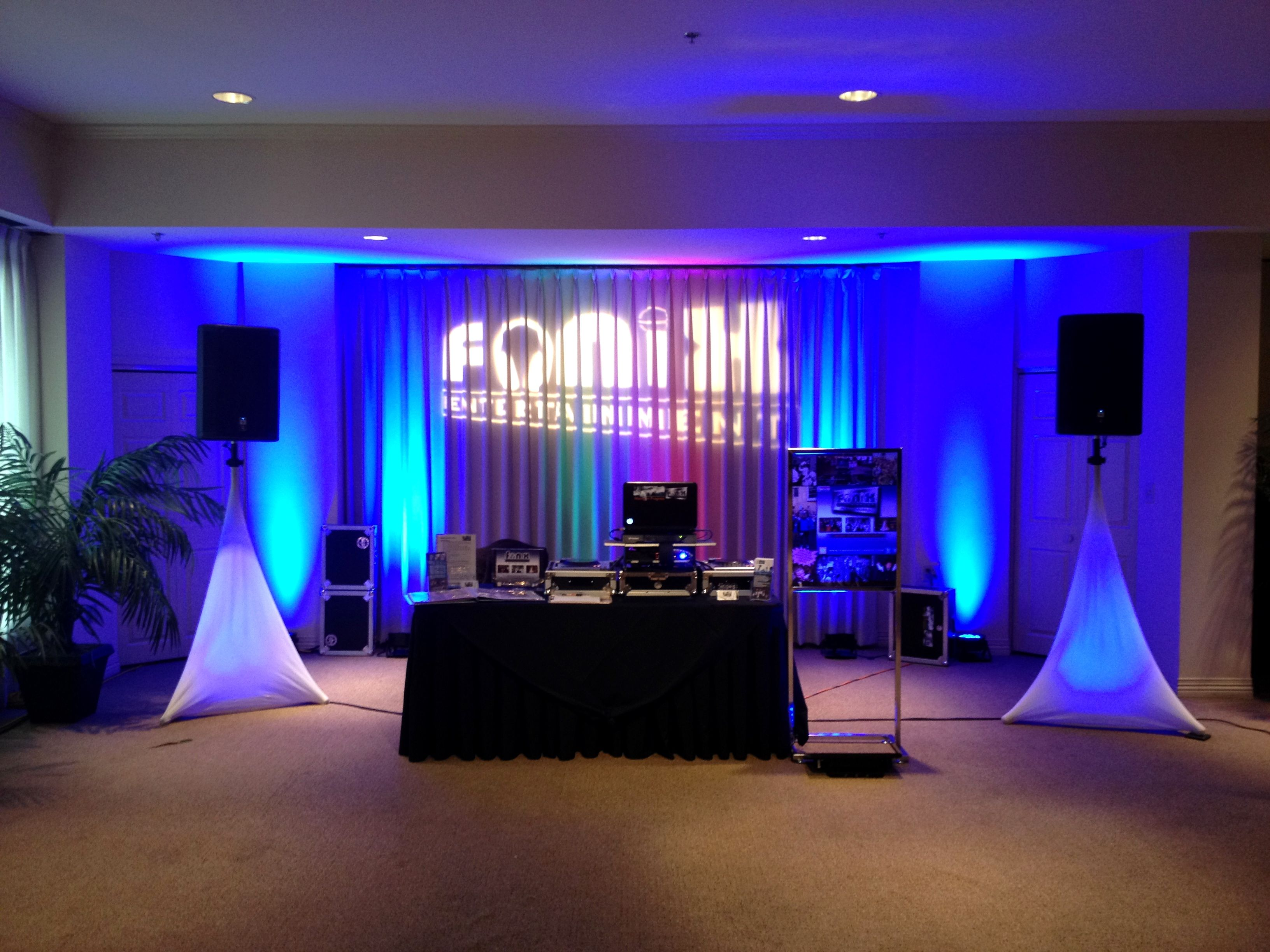 fonix entertainment dj lighting setups in 2019 event lighting. Black Bedroom Furniture Sets. Home Design Ideas
