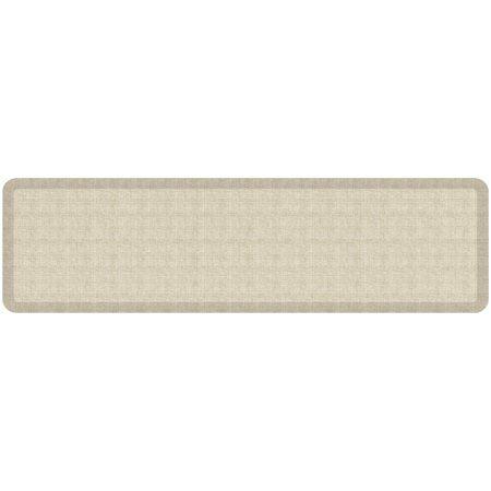 Newlife By Gelpro Designer Comfort Kitchen Floor Mat 30x108 Tweed Antique White Size 30 Inch X 108 Inch Kitchen Flooring Floor Mats Flooring