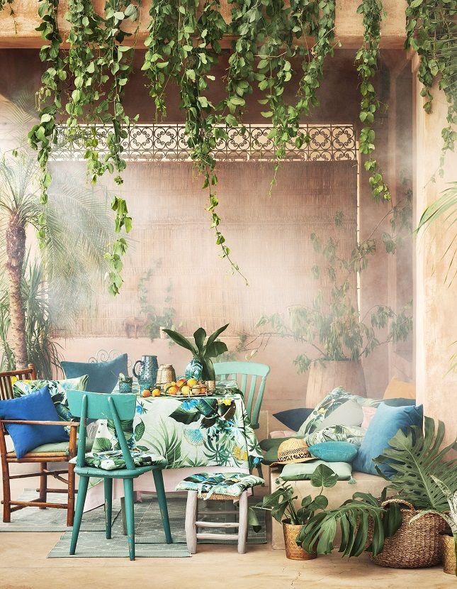 Summer Vibes with H\M Home kreative Dekoration, Grüne zimmer und - barbie wohnzimmer möbel