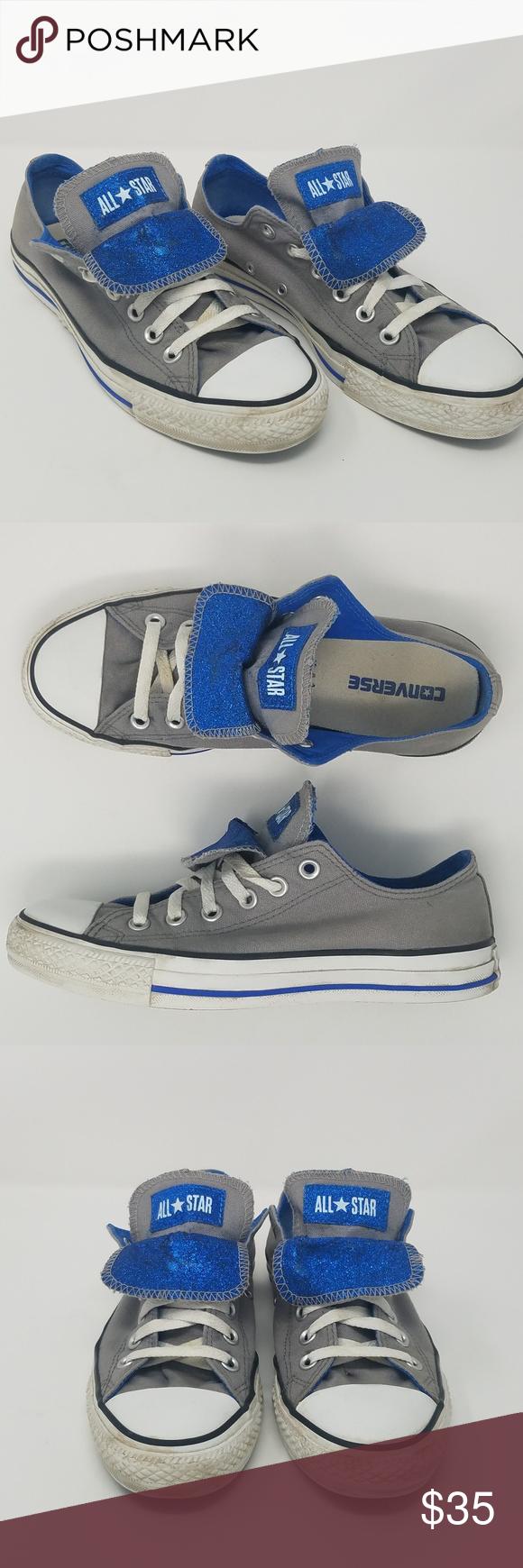 converse canvas blu