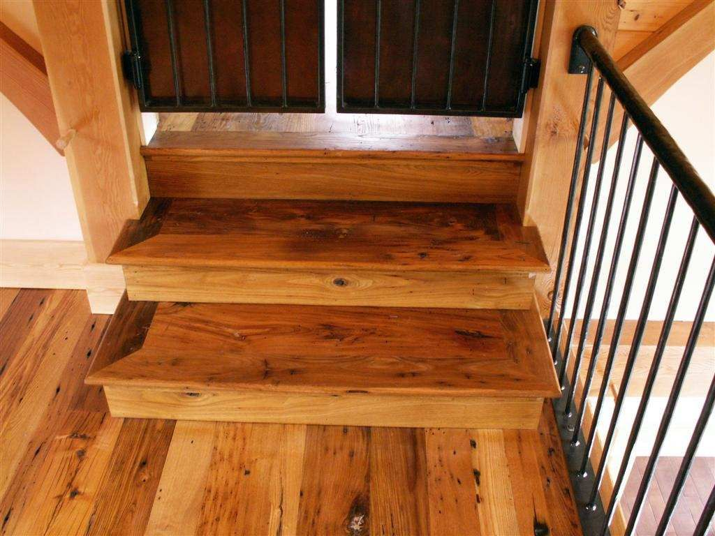 Best Reclaimed Chestnut Stair Treads And Risers Stairs Stair 400 x 300