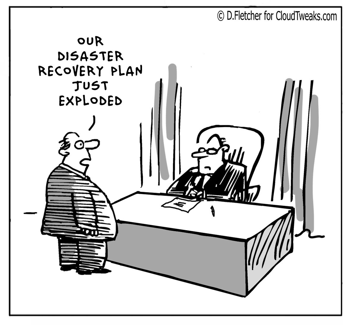 everyone needs a disaster plan  check out this funny comic