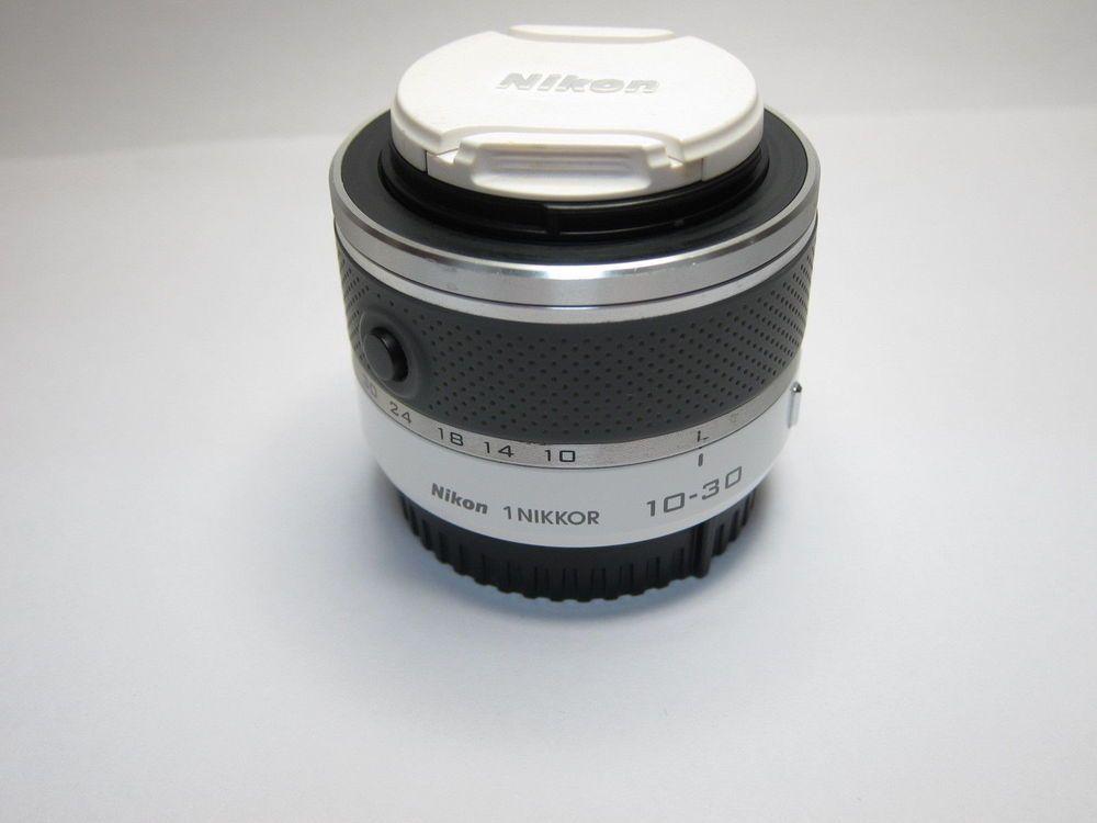 White 1 Nikon NIKKOR 10-30mm f/3.5-5.6 VR Zoom Lens Unit For J1 J2 J3 J4 V1 V2 | Cameras & Photo, Lenses & Filters, Lenses | eBay!