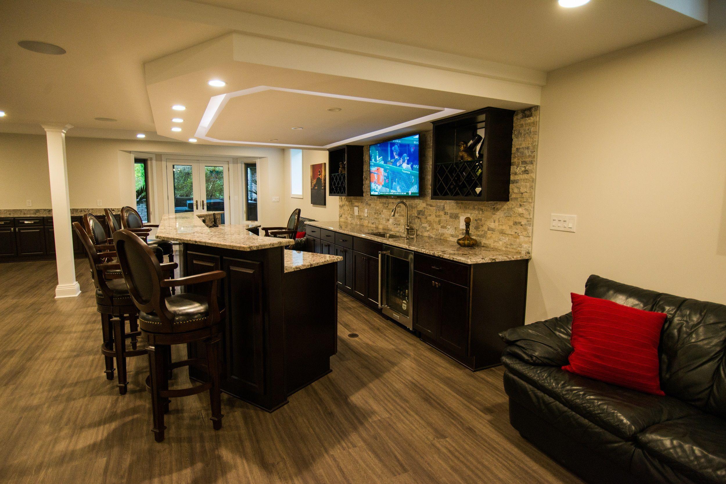 pin von d.a. home improvement auf walkout basement renovation