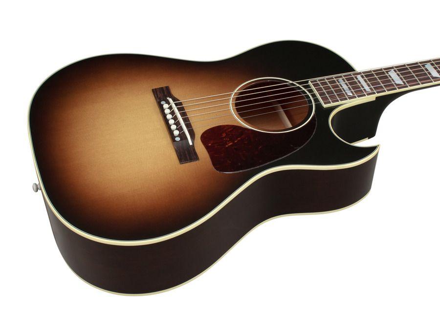 Gibson Limited Edition Cf 100 Vintage Sunburst Rainbow Guitars Gibson Acoustic Gibson Cool Guitar
