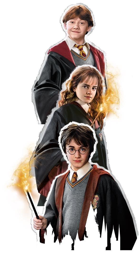 The Golden Trio 2021 Buyuculuk Harry Potter Cizim Sac