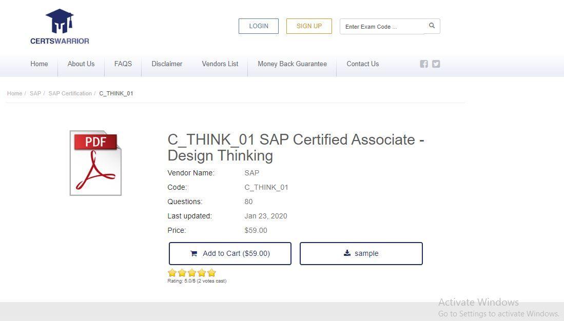 C Ts413 1809 Sap Certified Application Associate Sap S 4hana