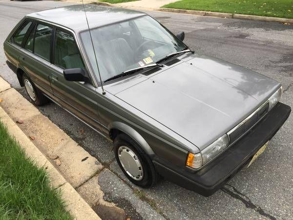 Rare 4wd Wagon 1987 Nissan Sentra Xe 5 Speed Nissan Sentra Nissan Wagon