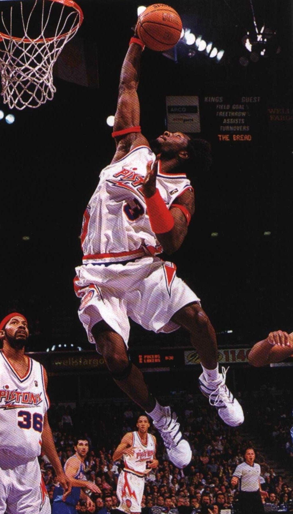 Thegrandarchives Detroit Pistons Ben Wallace Detroit Sports