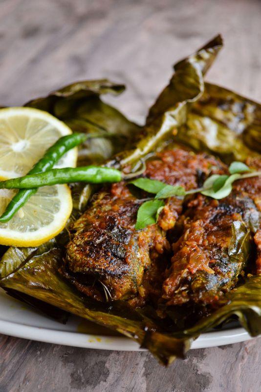 Mathi Pollichathu Recipe Cooking Grilled Sardines Seafood